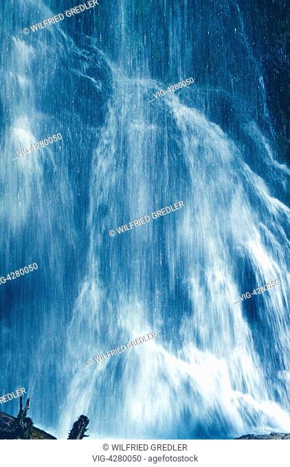 Waterfall at Palfau Waterhole Gorge - , Steiermark, Austria, 01/07/2012