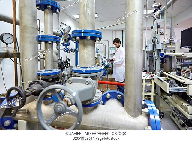 Flowmeter calibration. Mechanical Metrology. Technological Services to Industry. Tecnalia Research & Innovation, Zamudio, Bizkaia, Basque Country, Spain