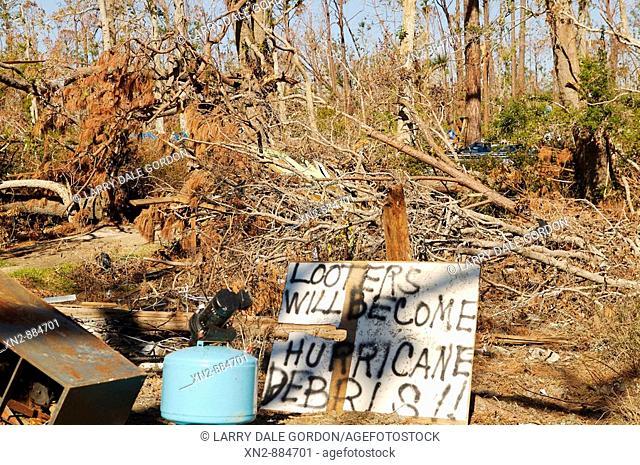 Effect of Hurricane Katrina on New Orleans