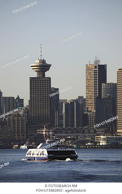 vancouver, crossing, downtown, inlet, barrard, ferry
