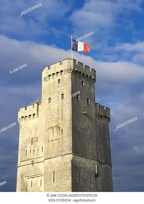 Tour Saint-Nicolas, La Rochelle, Charente-Maritime Department, Nouvelle-Aquitaine, France