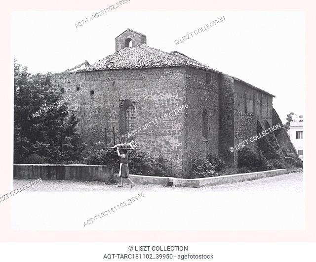 Lazio Roma Anguillara Sabazia S. Francesco, this is my Italy, the italian country of visual history, Post-medieval Architecture 15th century including ruins of...