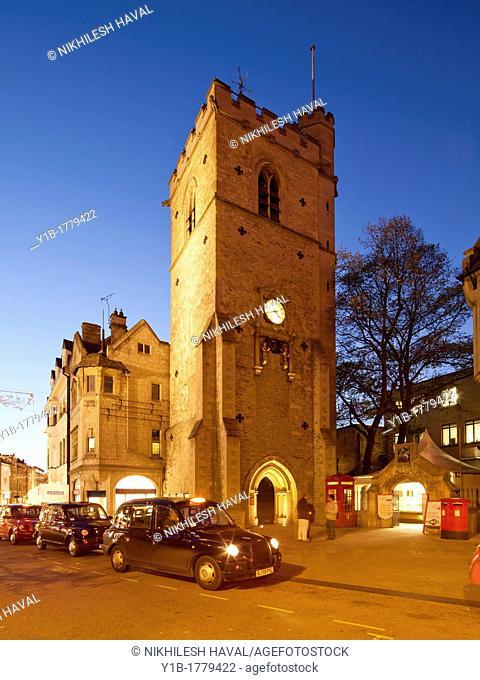 Carfax Tower St Martin's Church, Oxford