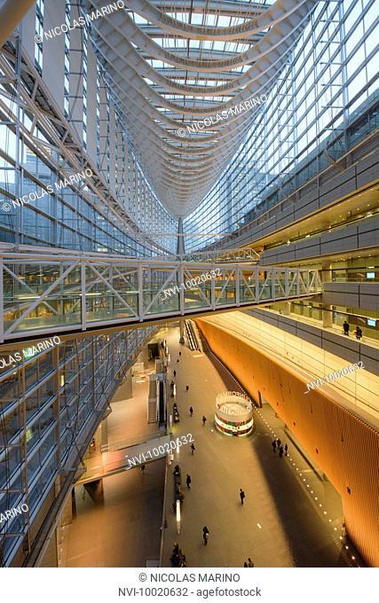 Tokyo international forum building, Japan