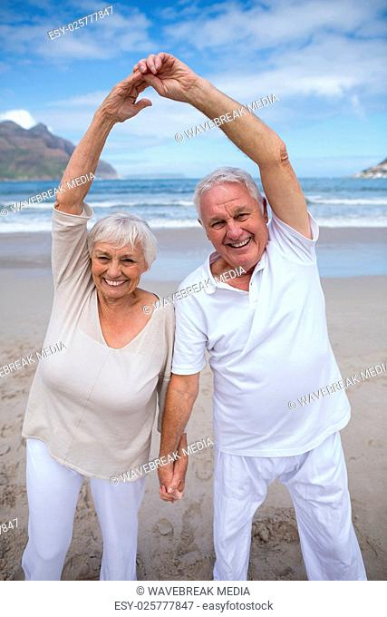 Older Couple Dancing On Beach Stock Photos And Images Agefotostock