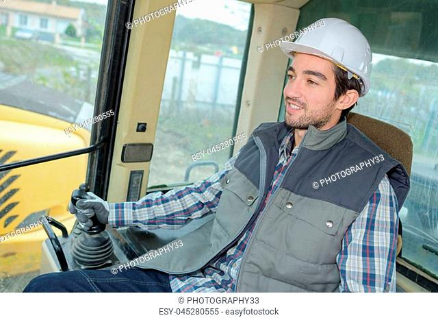 heavy equipment driver