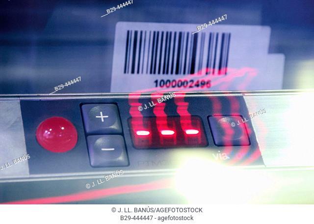 Bar code, logistics