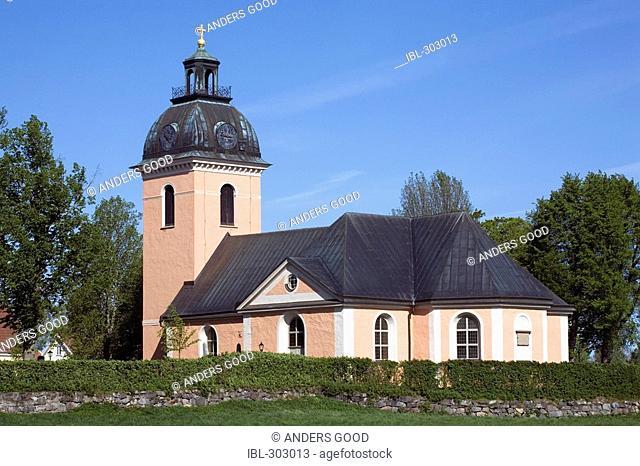 Church in Rinkaby, Närke, Sweden