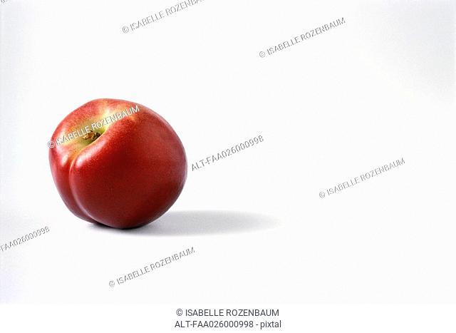 Nectarine, close-up