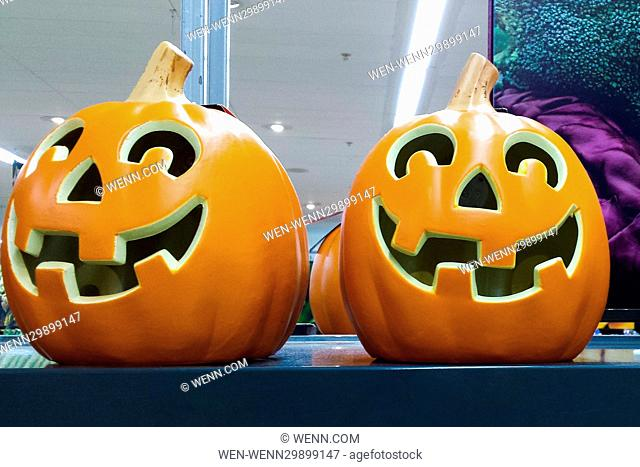 Halloween products on sale at a Sainsbury's supermarket in London. Where: London, United Kingdom When: 24 Oct 2016 Credit: WENN.com