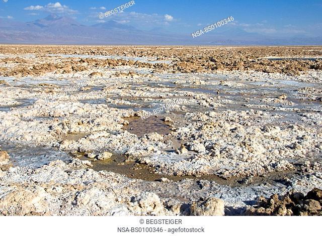 Salar de Atacama, salt lake, Atacama Desert, Chile, South America