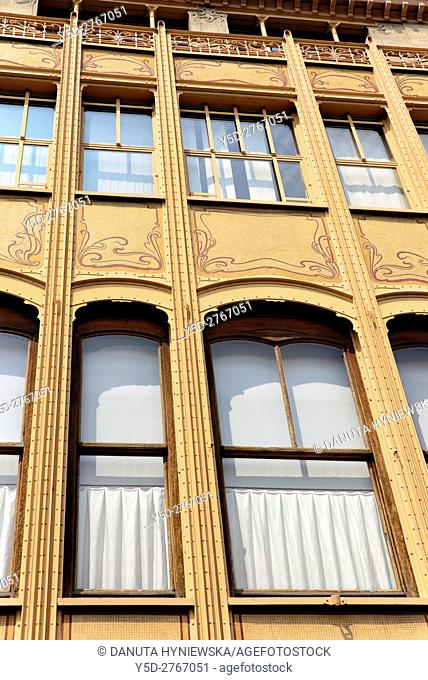 Hotel van Eetvelde is a town house designed in 1895 by Victor Horta for Edmond van Eetvelde, administrator of Congo Free State, together with Hotel Tassel