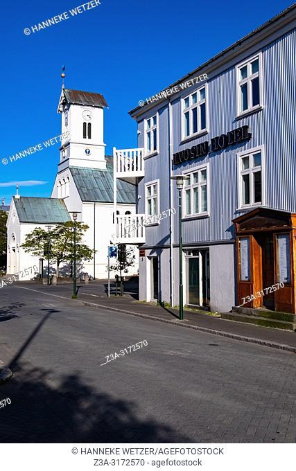 Kvosin hotel in Reykjacik, Iceland