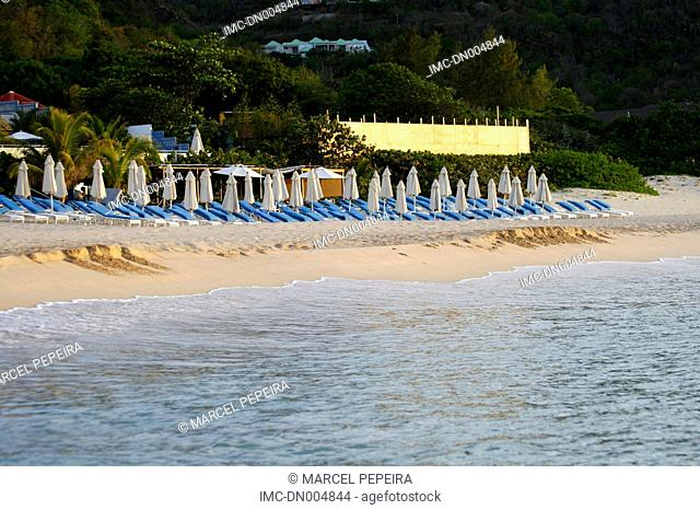 French West Indies, Guadeloupe, Saint Barthelemy, beach