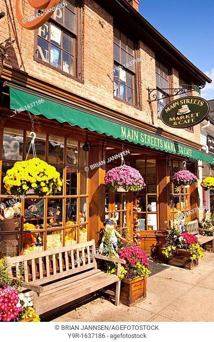 Mainstreet Market and Cafe in Concord Massachusetts, USA