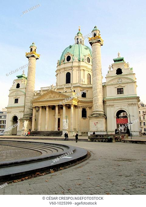 -Karlskirche Church- Wien (Austria)
