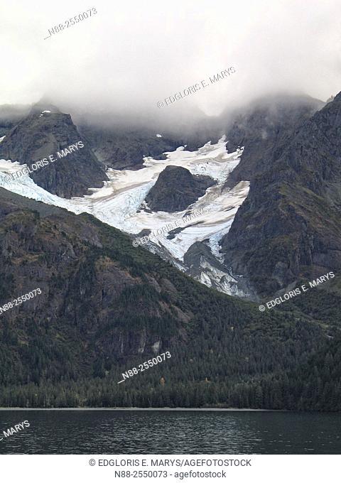 Glaciers, Kenai Fjords National Park, Kenai Peninsula, Southcentral Alaska