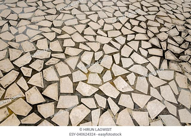 stone block tile floor background and texture