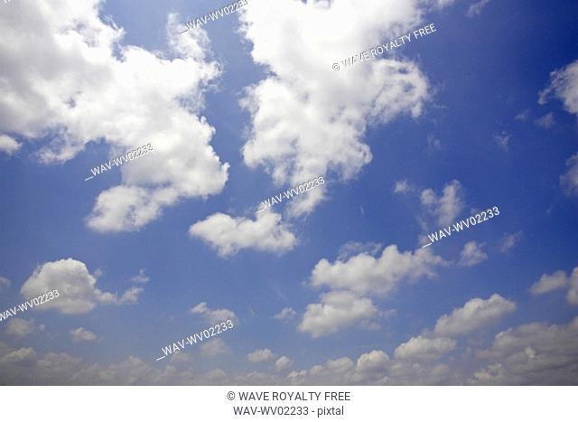 Sky scape with clouds, Canada, Ontario, Hamilton