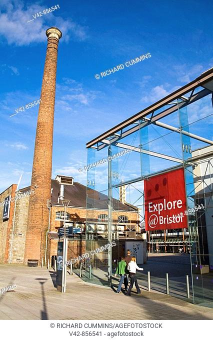 Explore @ Bristol, Harbourside District, Bristol City, Wiltshire County, England, Great Britain