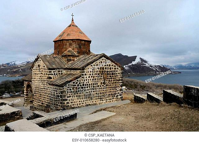 Surp Astvatsatsin church in Sevanavank orthodox monastery