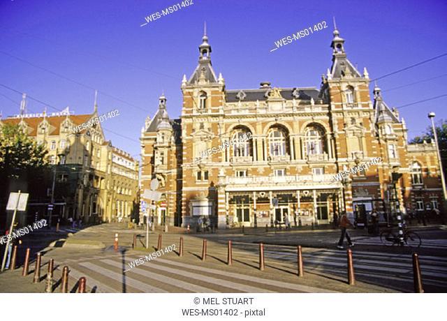 Stadsschouwburg, Leidseplein, Amsterdam, Holland