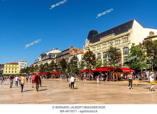 Place de Jaude, Clermont Ferrand, Puy de Dome department, Auvergne-Rhone-Alpes, France