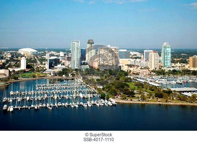 Demens Landing Park and yacht basin, St Petersburg, FL