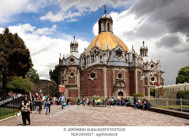Pocito Chapel, Basilica of Our Lady of Guadalupe (Basilica de Nuestra Señora de Guadalupe), Mexico City, Mexico DF, Mexico