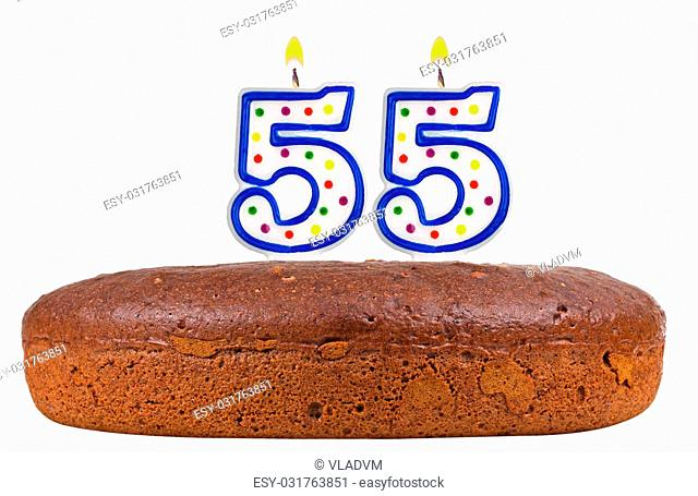 Incredible Chocolate Cake For 55Th Birthday Stock Photos And Images Funny Birthday Cards Online Inifofree Goldxyz