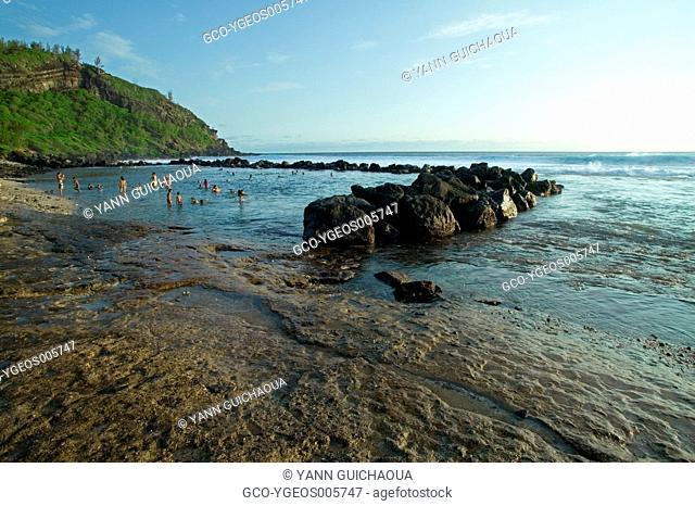 REUNION ISLAND, GRANDE ANSE BEACH