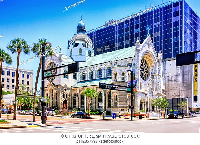 The Sacred Heart Catholic Church in downtown Tampa FL