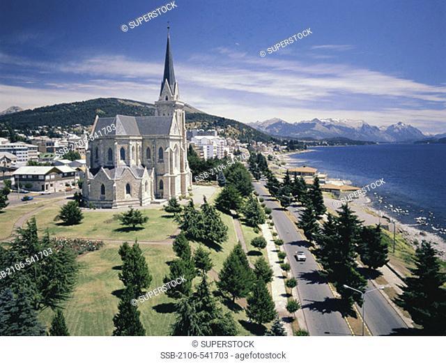 Nahuel Huapi Lake and Cathedral Bariloche Argentina