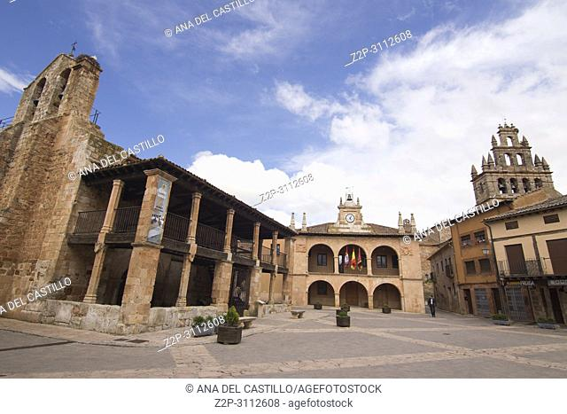 Ayllon is one of the most beautiful villages in Spain Segovia province
