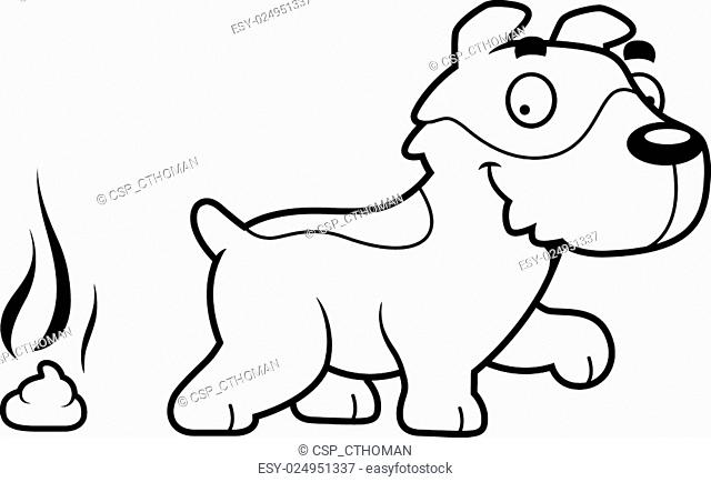 Cartoon Jack Russell Terrier Poop Stock Photos And Images