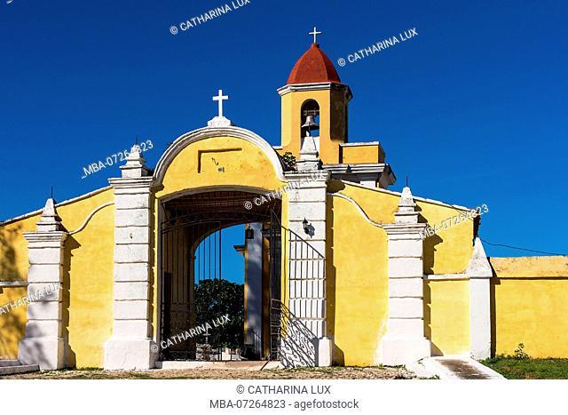 Cuba, Trinidad, UNESCO World Heritage Site, Cemetery, Portal
