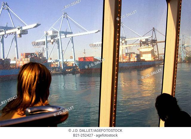 Port of Algeciras. Cádiz province. Spain