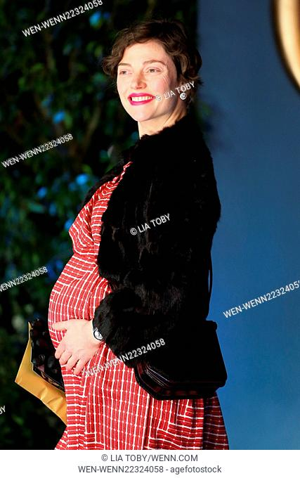 UK Premiere of Cinderella - Arrivals Featuring: Camilla Rutherford Where: London, United Kingdom When: 19 Mar 2015 Credit: Lia Toby/WENN.com