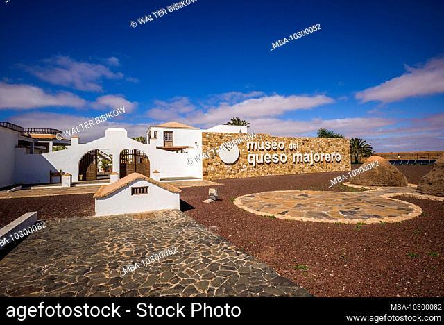 Spain, Canary Islands, Fuerteventura Island, Antigua, cheese museum