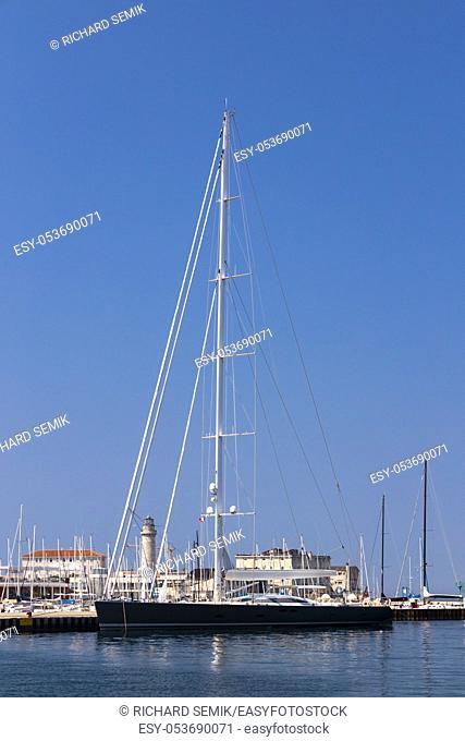 Ship inTerst, North Italy