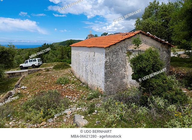 Albania, Balkan Peninsula, Southeast Europe, the republic Albania, Vlore orthodox chapel
