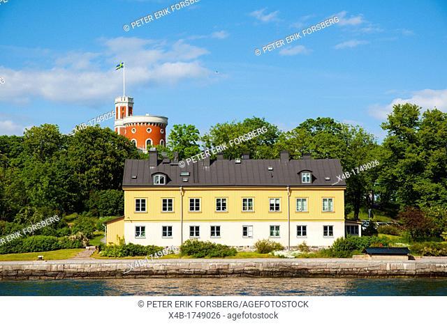 Kastellholmen island Stockholm Sweden Europe