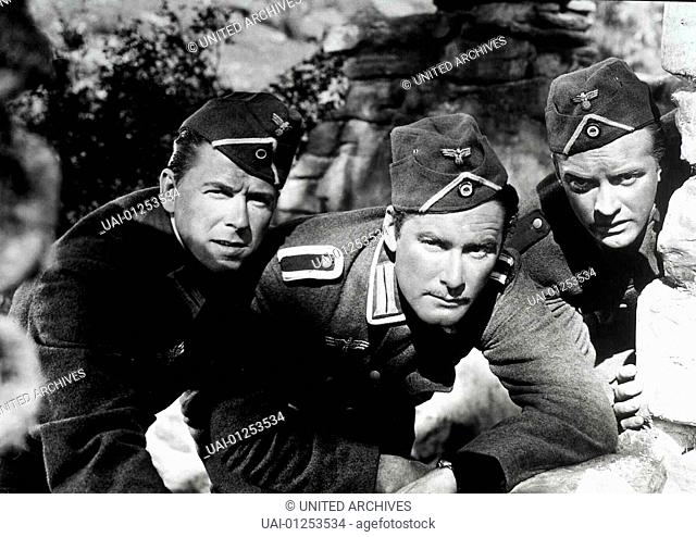Sabotageauftrag Berlin, 1940er, 1940s, Desperate Journey, Film, War, Sabotageauftrag Berlin, 1940er, 1940s, Desperate Journey, Film, War, Ronald Reagan