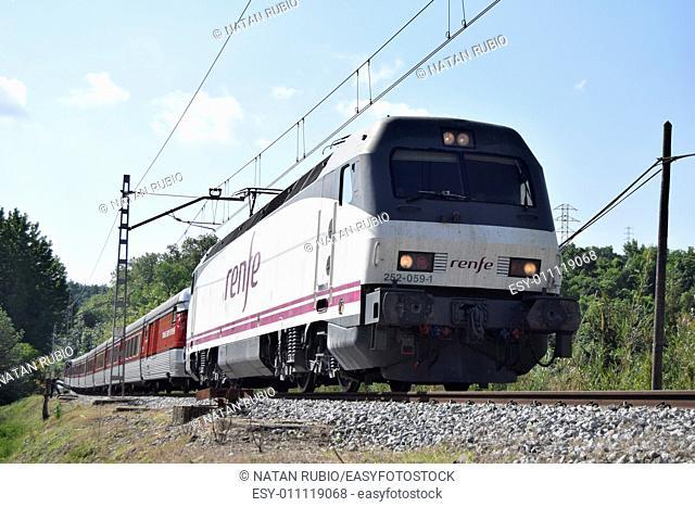 Train, Sant Quirze de Besora, Spain