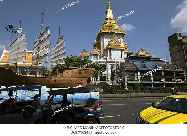 Thailand, Bangkok, Wat Traimit, Temple of the Golden Buddha, Yaowarat Chinatown Heritage Centre