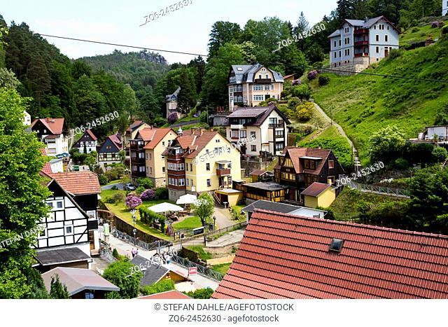 The Village Rathen, Saxony, Germany