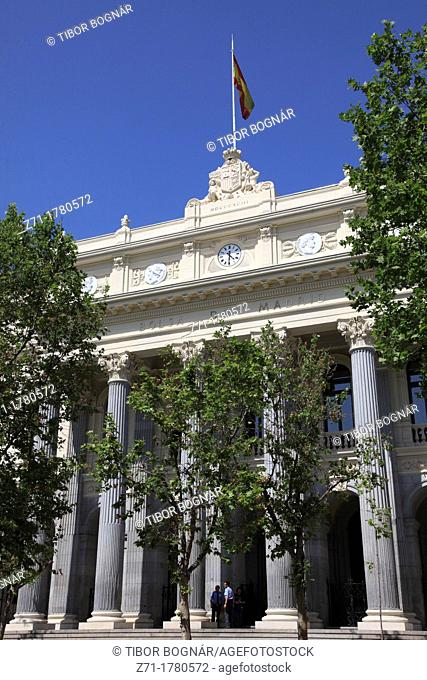 Spain, Madrid, Bolsa, Stock Exchange