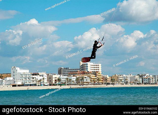 Kitesurfing auf Mallorca