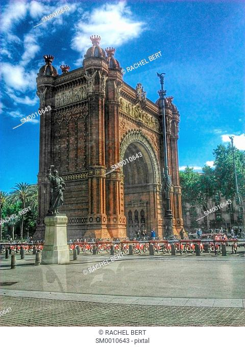 Arc de Triomf, Barcelona, Catalonia