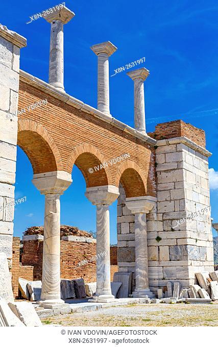 Basilica of St. John, Ephesus, Selcuk, Izmir Province, Turkey